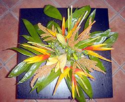 Interest Arrangement - Design Flowers Restaurant