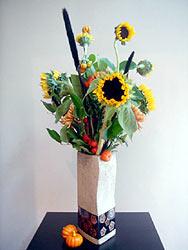 Look Up Arrangement - Design Flowers Restaurant